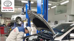 Quy định về thay dầu nhớt xe ô tô Toyota mọi khách hàng cần biết