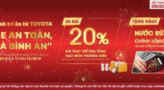 Cơ Hội Nhận Quà Giá Trị Dịch Vụ Từ Toyota Doanh Thu - Thanh Hóa