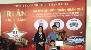 Công bố kết quả BỐC THĂM TRÚNG THƯỞNG Sự kiện mừng sinh nhật 1 năm