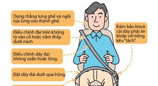 Toyota Doanh Thu- Thanh Hóa hướng dẫn quý khách hàng ngồi và cài dây an toàn đúng cách