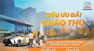 Siêu ưu đãi mùa thucùng Toyota Doanh Thu- Thanh Hóa