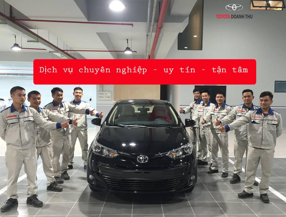 Dịch vụ Toyota Hà Tĩnh